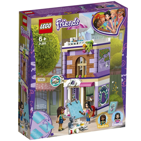 LEGO®Friends -41365 - Emma műterme